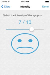 Symptom Intensity Page